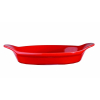 RED INTER OVAL EARED DISH