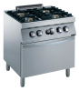 GAS STOVE 4 BURNER WITH A GAS OVEN 28KW