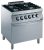 GAS STOVE 4 BURNERS WITH 22KW ELECTRIC OVEN
