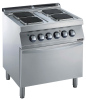 4-HOT PLATE  EL. HOOB WITH ELECTRIC OVEN